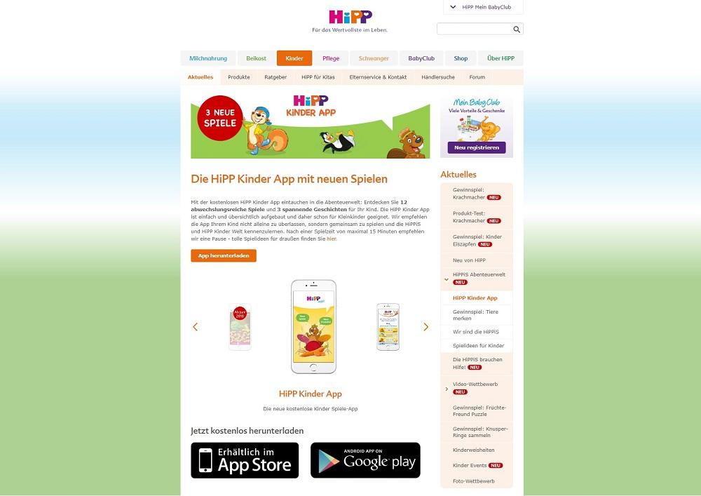 [Anzeige] Die neuen HiPP Kindersnacks für mehr Spaß beim Essen und neue Spiele in der HiPP Kinder App