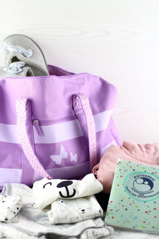 Schwangerschafts-Update 31.Woche - Checkliste Kliniktasche