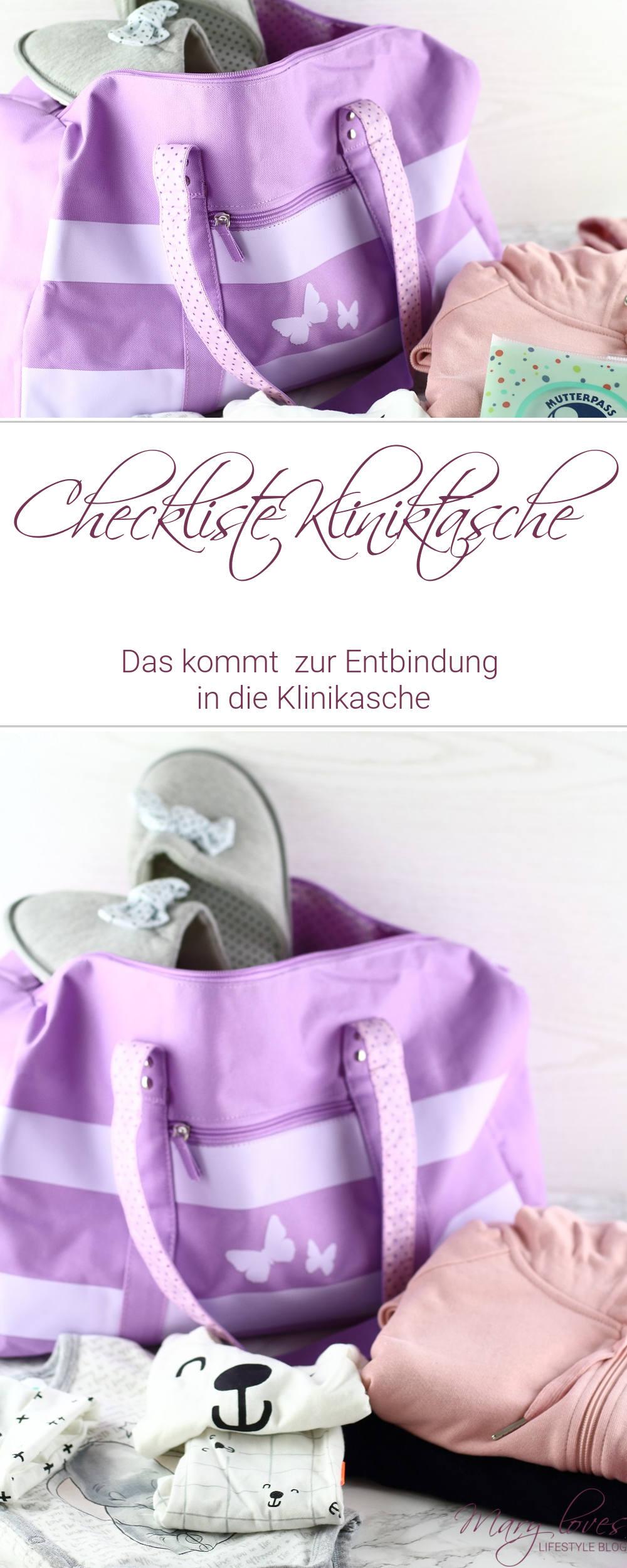Schwangerschafts-Update 31.Woche - Checkliste Kliniktasche - #kliniktasche #schwangerschaft #krankenhaustasche #entbindung #schwangerschaftstipps #checkliste