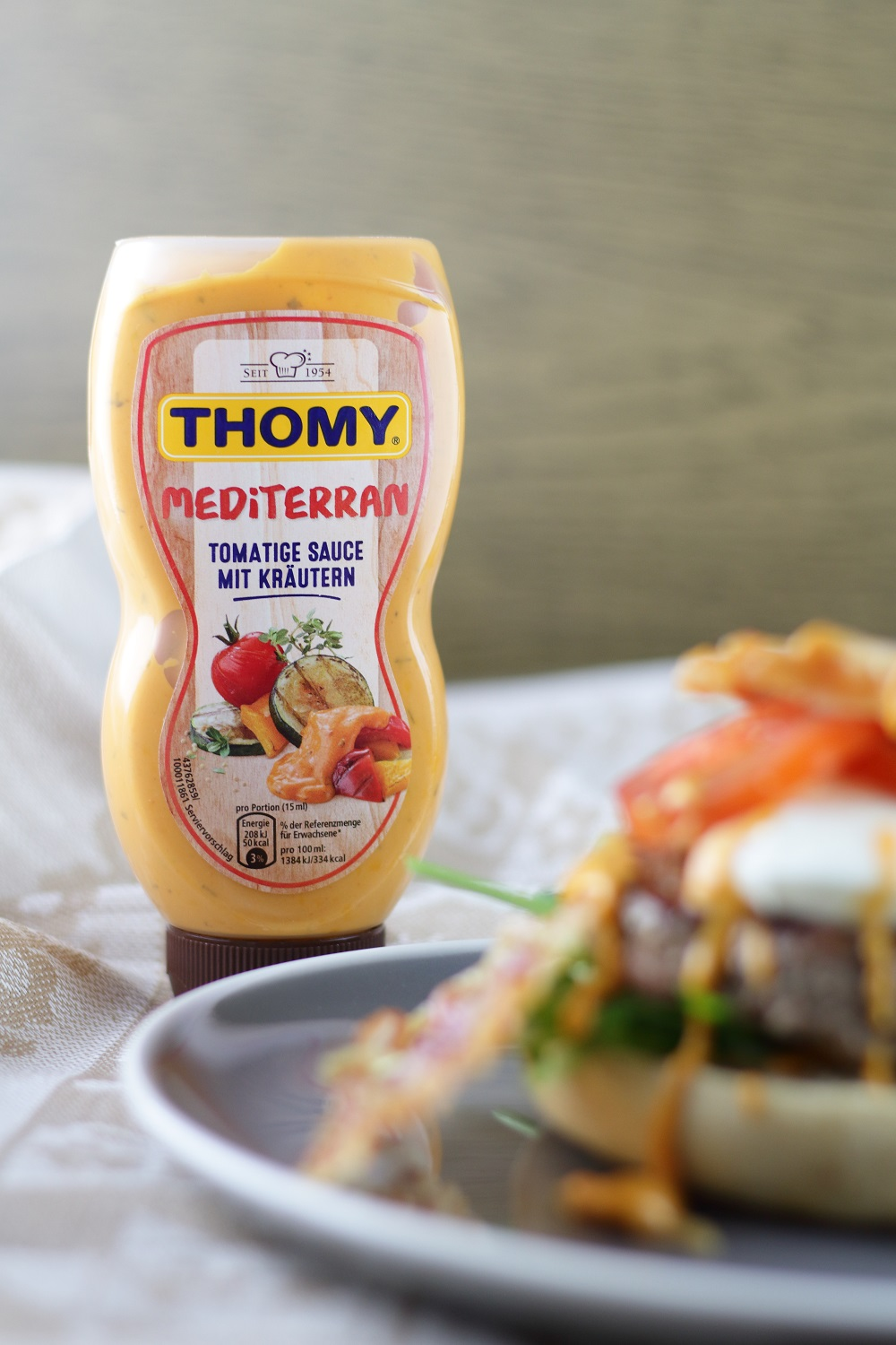 [Anzeige] Mein mediterraner Italian Burger & das THOMY Burger Battle 2018 - THOMY mediterrane Sauce
