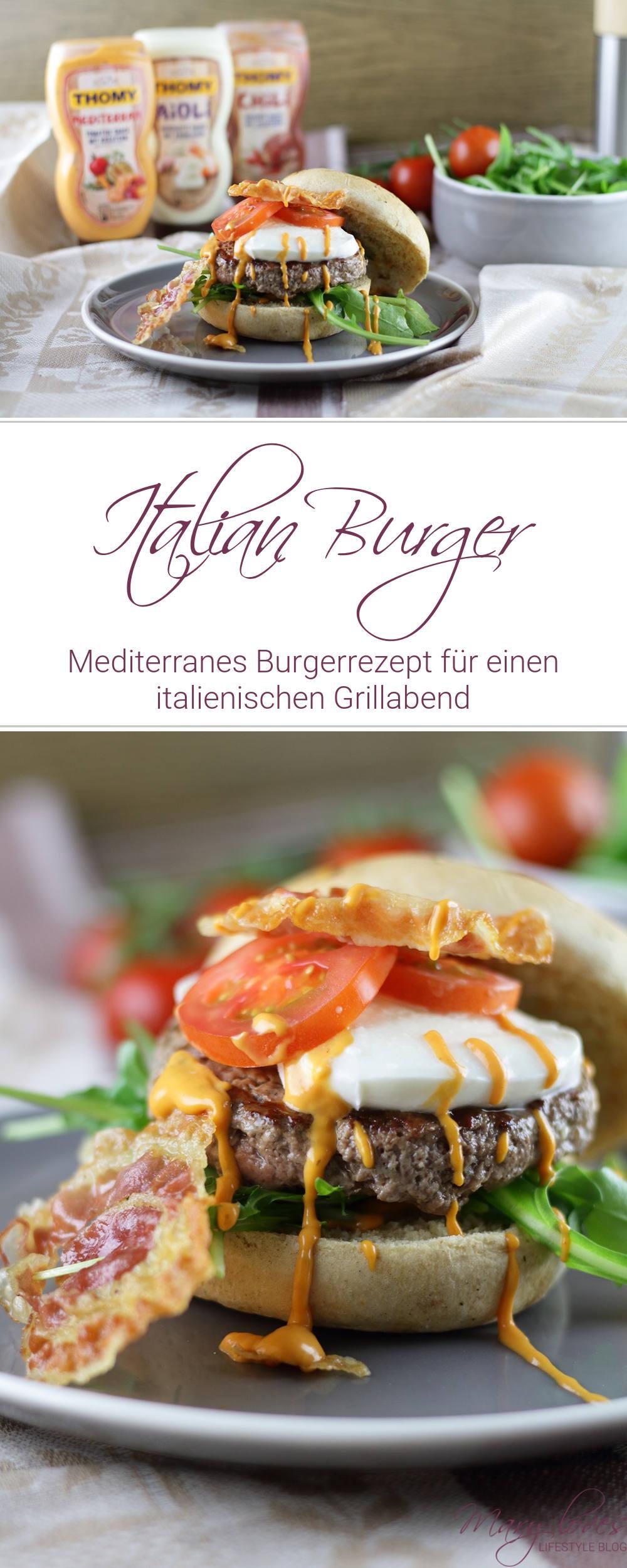 [Anzeige] Mein mediterraner Italian Burger & das THOMY Burger Battle 2018 - #burger #burgerrezept #italianburger #grillen #italienisch # burgerbattle #italienischerburger #thomy #fastfood
