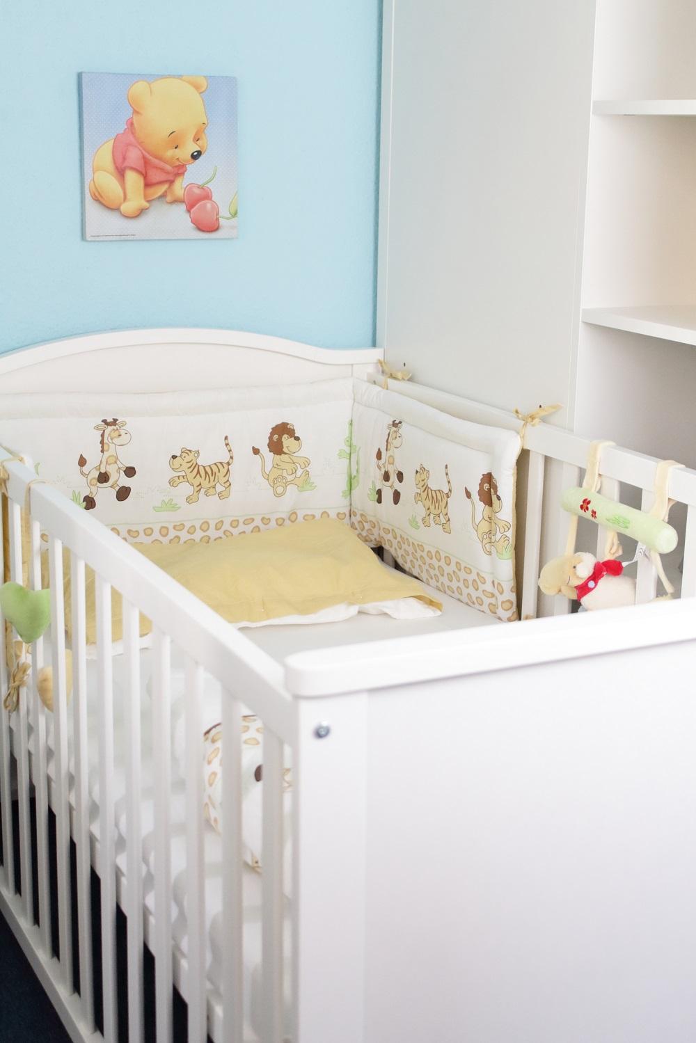 [Anzeige] Der erste Schlafplatz für's Baby - Babybett im Kinderzimmer
