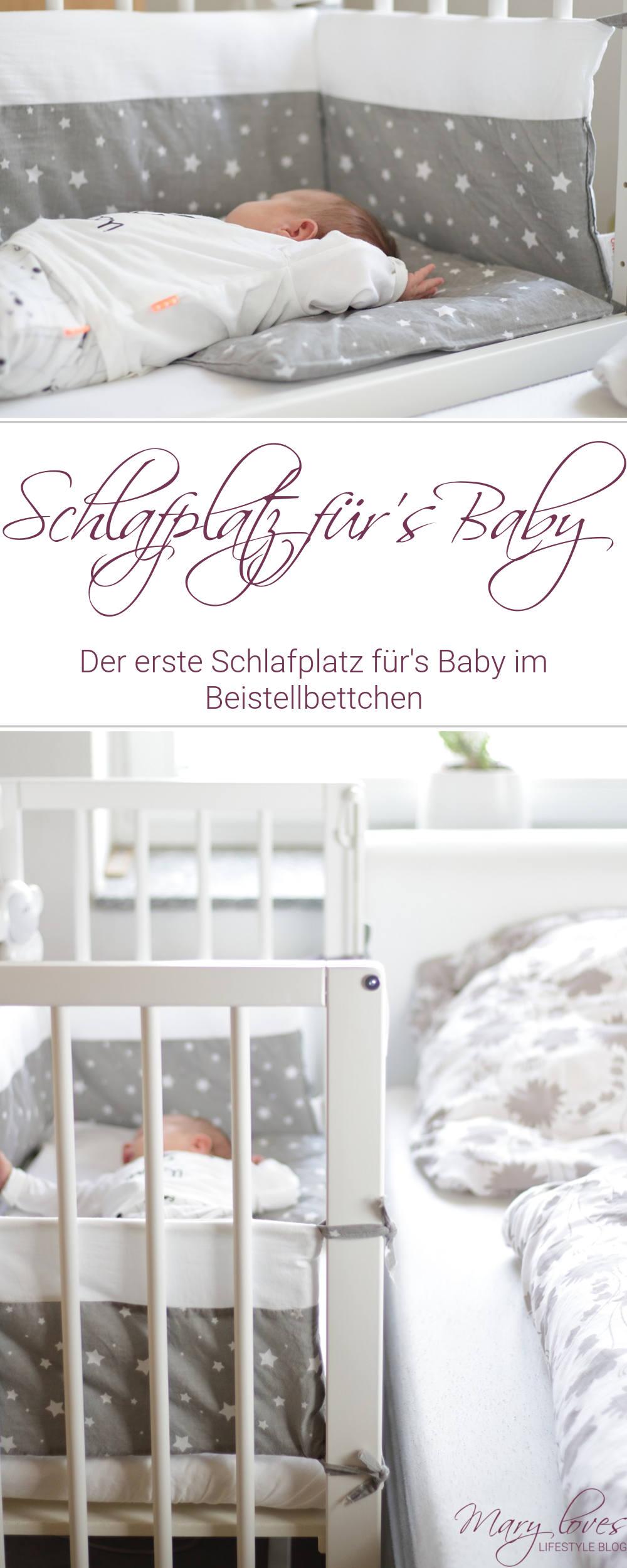 [Anzeige] Der erste Schlafplatz für's Baby im Little World Beistellbett im Elternschlafzimmer - #babywalz #babyzimmer #schlafenszeit #beistellbett #babybett #bettchen #littleworld #baby