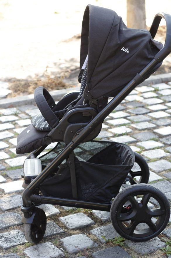 [Anzeige] Joie Chrome DLX Kombi-Kinderwagen - Mit dem Baby sicher unterwegs - Buggy-Aufsatz