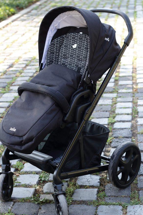[Anzeige] Joie Chrome DLX Kombi-Kinderwagen - Mit dem Baby sicher unterwegs - Buggy-Aufsatz mit Fußsack