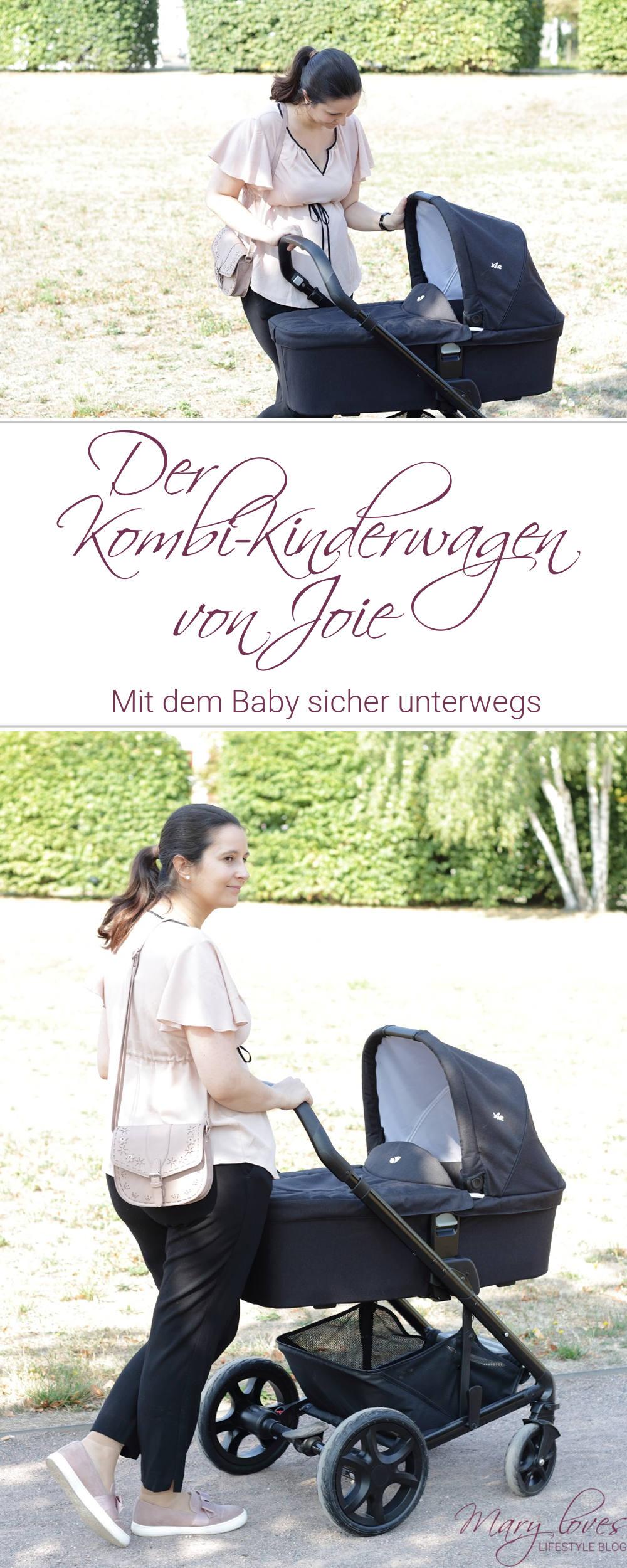[Anzeige] Joie Chrome DLX Kombi-Kinderwagen - Mit dem Baby sicher unterwegs - #joie #joiechromedlx #chromedlx #kinderwagen #kombikinderwagen #baby #babyschale #autositz #sportbuggy #buggy