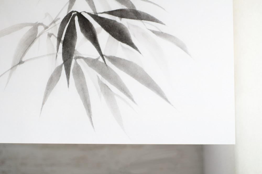 [Anzeige] Projekt Home Office - Ein neues Styling für meinen Schreibtisch - Schreibtischfolie 'Bambus' von Pixers