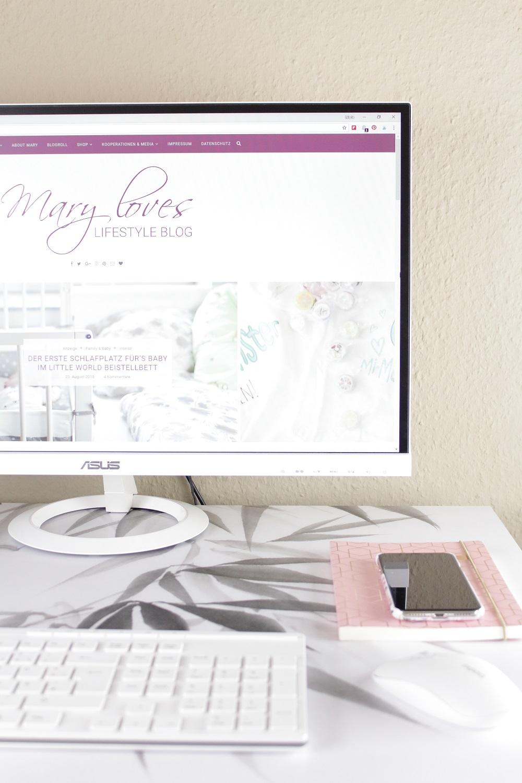 [Anzeige] Projekt Home Office - Ein neues Styling für meinen Schreibtisch - hinterher