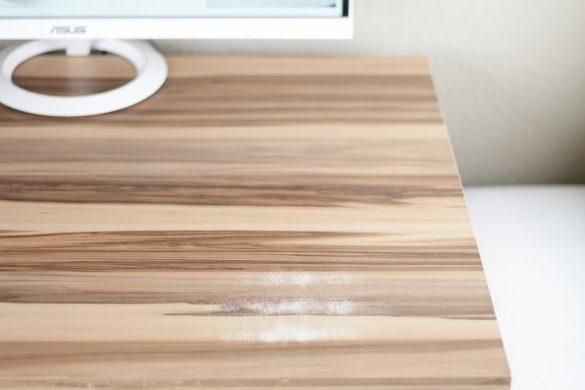 [Anzeige] Projekt Home Office - Ein neues Styling für meinen Schreibtisch - vorher