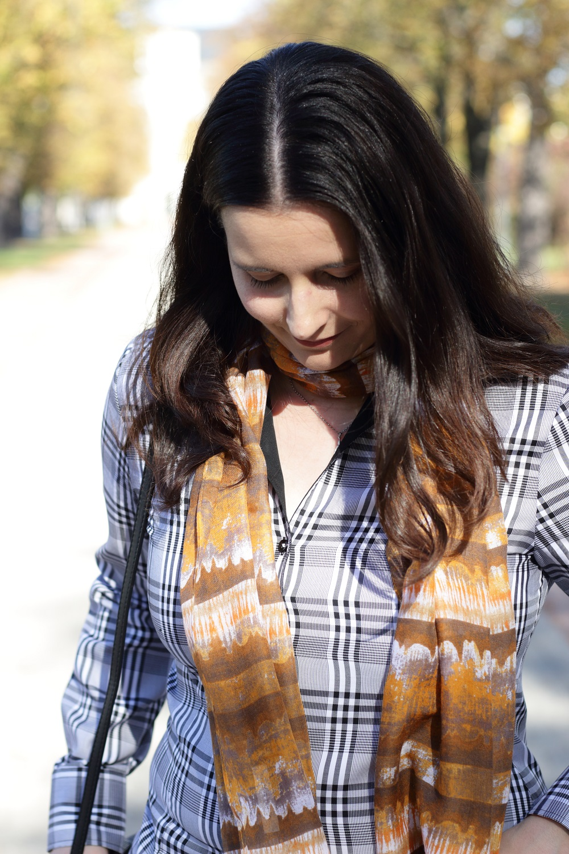 [Anzeige] Mein Herbstoutfit mit dem Trendmuster Karo