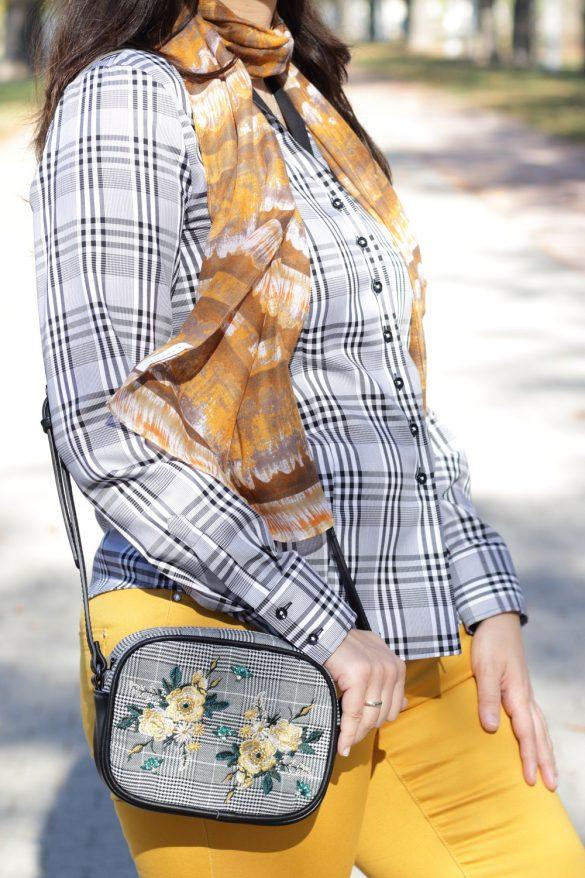 [Anzeige] Mein Herbstoutfit mit dem Trendmuster Karo - Details