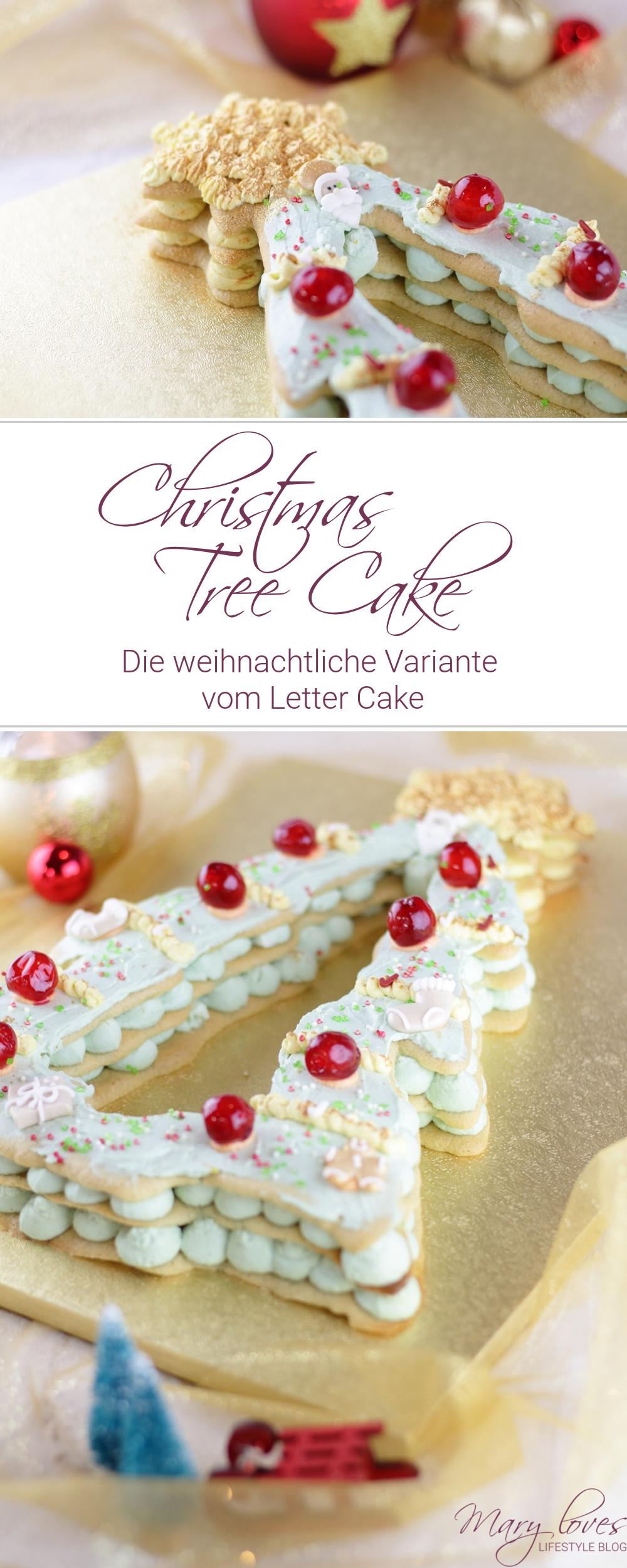 [Anzeige] Christmas Tree Cake - Die weihnachtliche Variante vom Letter Cake - #christmastreecake #lettercake #weihnachtskuchen #christmas #weihnachten #weihnachtstorte #kuchen #torte #numbercake #christmascake #cake