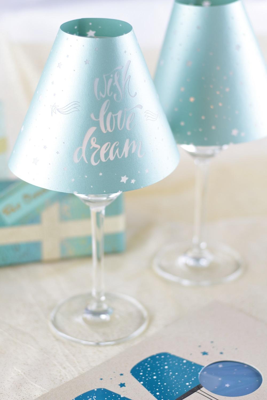 [Anzeige] Vorfreude auf die Weihnachtszeit & stilvolle Geschenkideen von arsEdition - Lichterglanz Lampenschirmchen