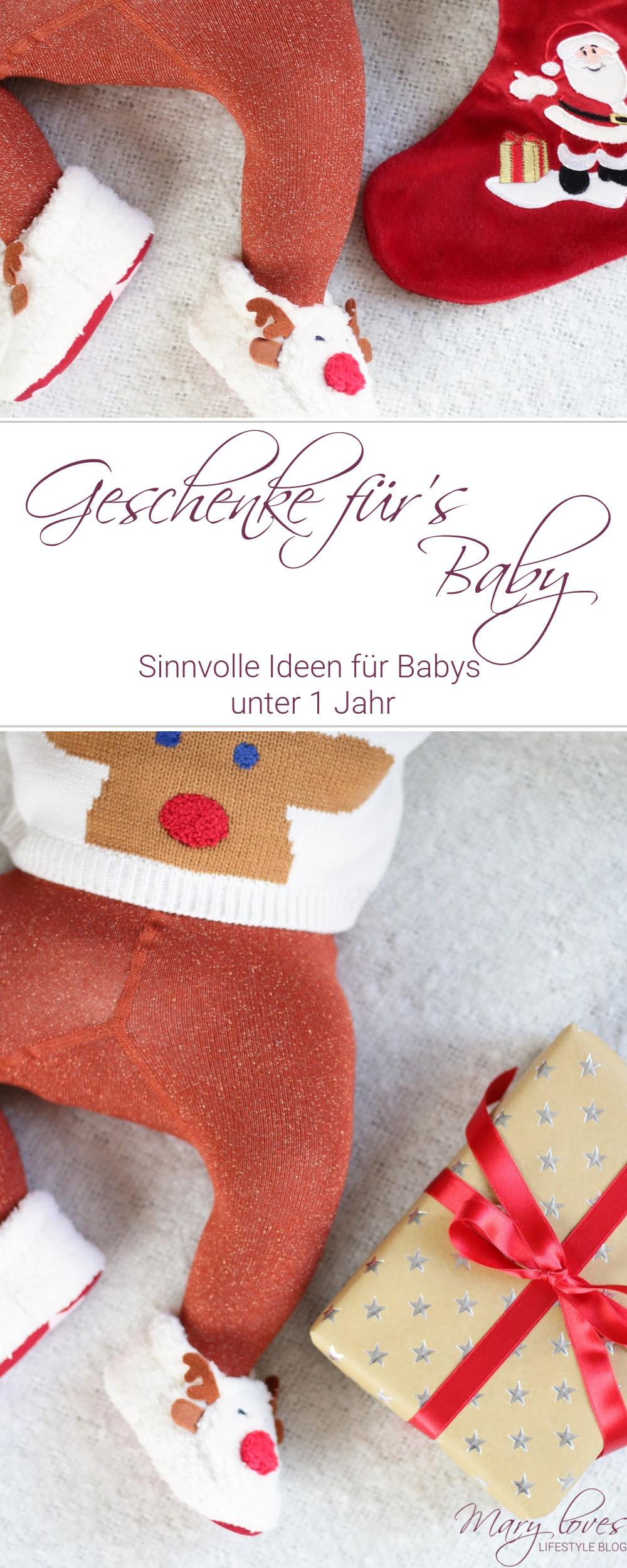 [Werbung unbeauftragt] Sinnvolle Geschenkideen für Babys unter 1 Jahr - #baby #babygeschenk #geschenkidee #geschenkfürsbaby #geschenke #weihnachtsgeschenke #babygeschenkideen