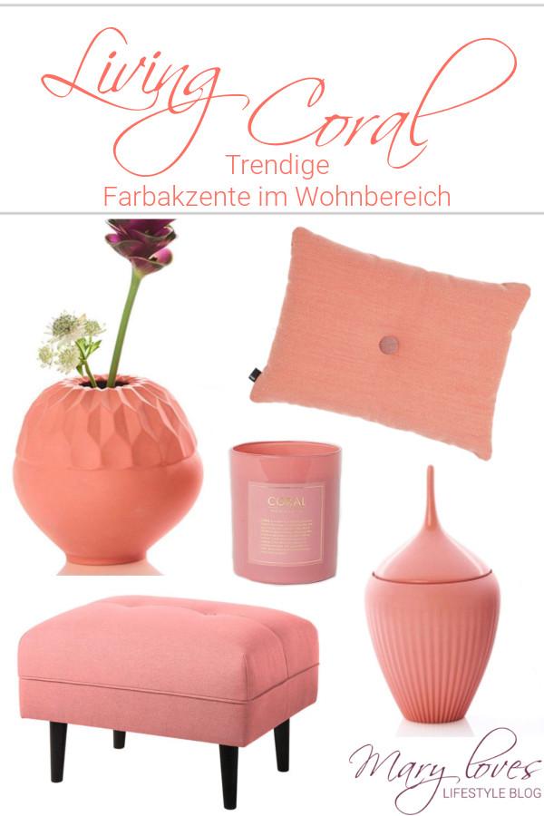 [Werbung unbeauftragt] Pantone Color of the Year 2019 - Die neue Trendfarbe heißt Living Coral - #livingcoral #pantone #trendfarbe2019 #coloroftheyear #dekofarbe #koralle #korallefarben