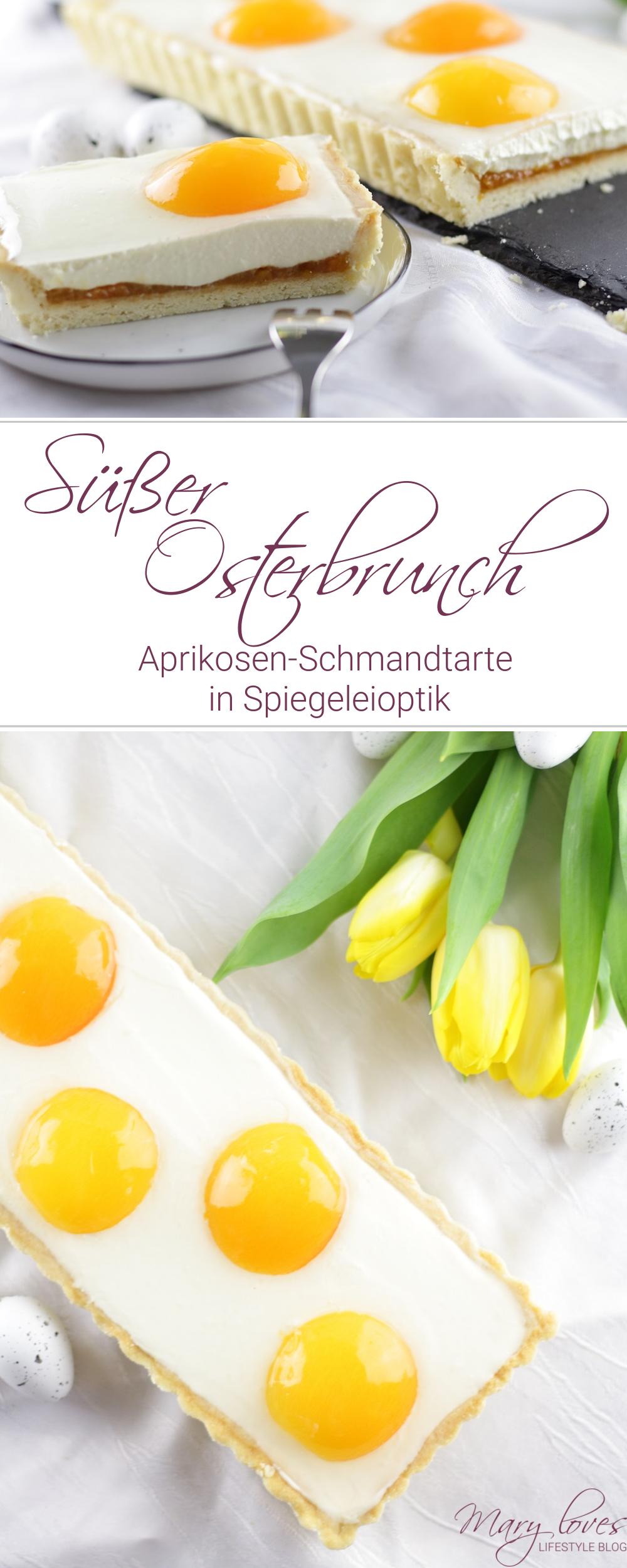 [Anzeige] Süßer Osterbrunch - Aprikosen-Schmandtarte in Spiegeleioptik - #ostern #osterbrunch #tarte #ostertarte #aprikosentarte #spiegeleitarte #osterkuchen #osterbacken