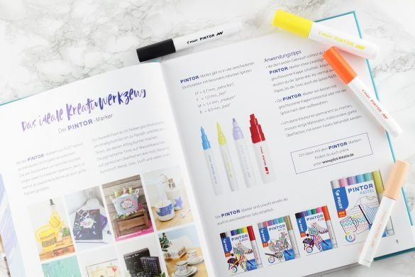 [Anzeige] Pimp up! DIY-Projekte mit dem PINTOR-Marker - Buch mit tollen DIY-Ideen - Der PINTOR-Marker