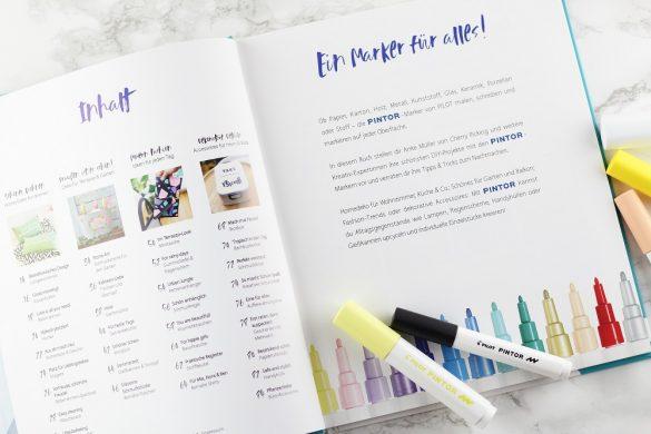 [Anzeige] Pimp up! DIY-Projekte mit dem PINTOR-Marker - Buch mit tollen DIY-Ideen - Inhalt