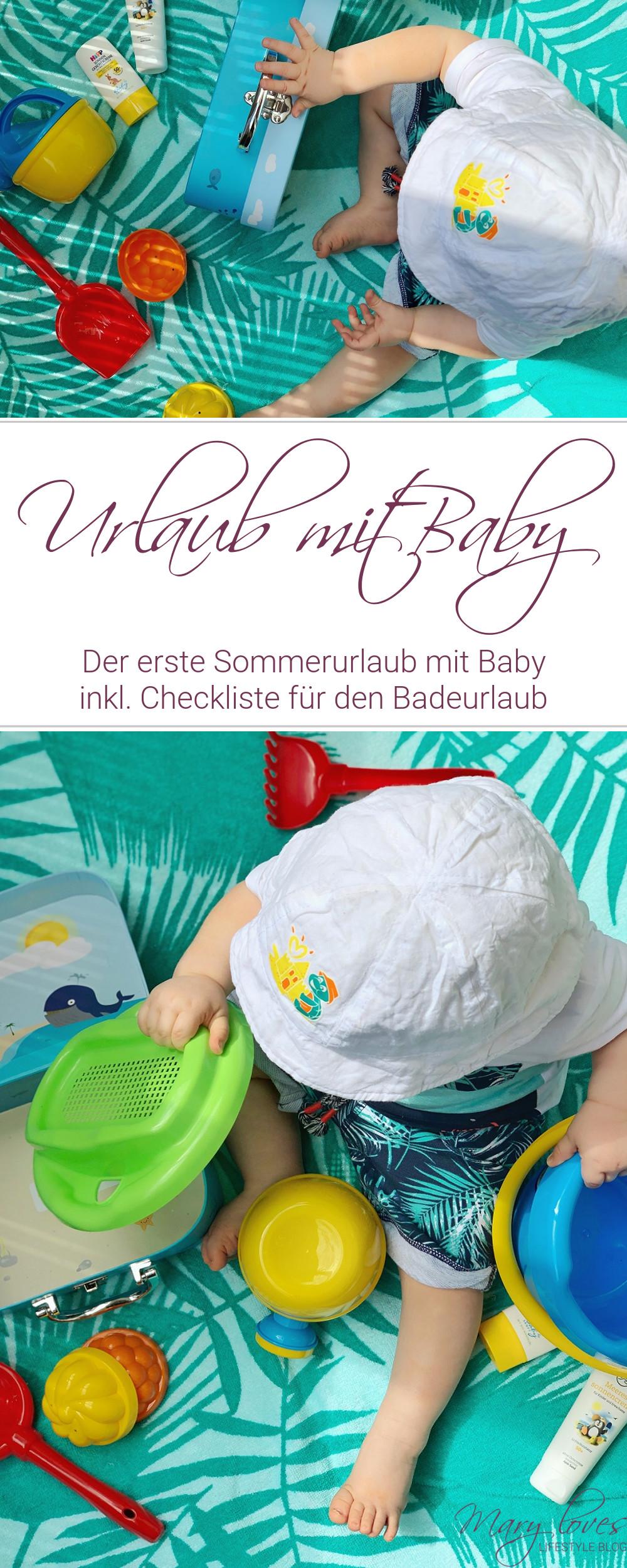 [Werbung unbeauftragt] Der erste Urlaub mit Baby + Checkliste für den Badeurlaub - #urlaubmitbaby #familienurlaub #urlaub #sommerurlaub #urlaubscheckliste #badeurlaub #urlaubmitkindern #baby