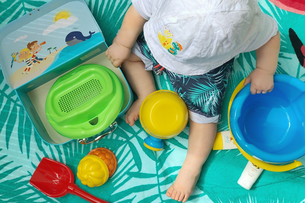 [Werbung unbeauftragt - enthält Partnerlinks] Der erste Urlaub mit Baby + Checkliste für den Badeurlaub