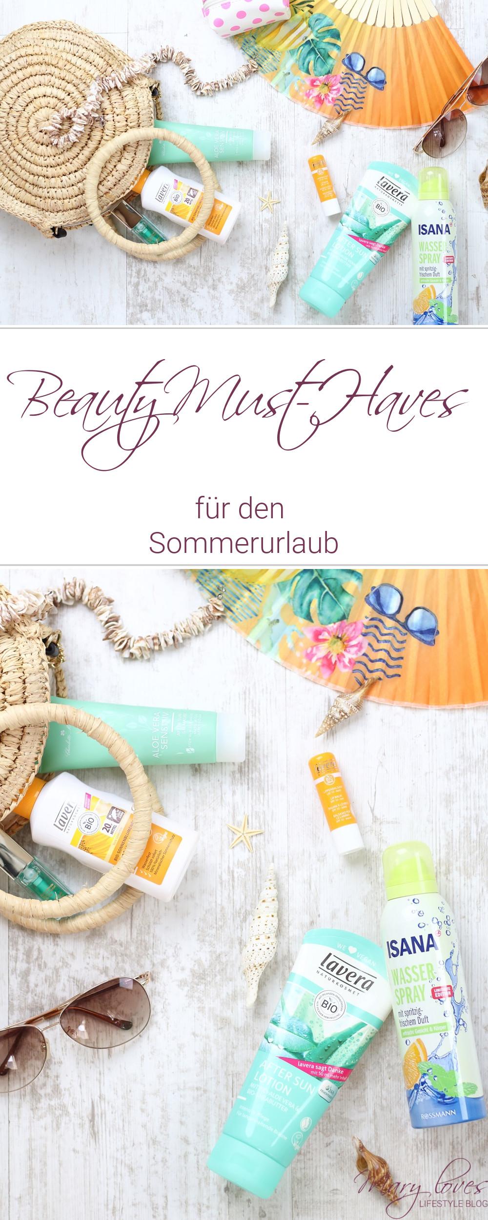 [Werbung unbeauftragt] Meine Beauty-Must-Haves für den Sommerurlaub - #beauty #beautymusthaves #sommerprodukte #sonnencreme #erfrischungsspray #urlaubspflege #noops #sommerpflege