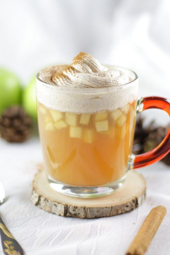 [Anzeige] Fall in Love - Warme Getränke im Herbst - Apfelpunsch