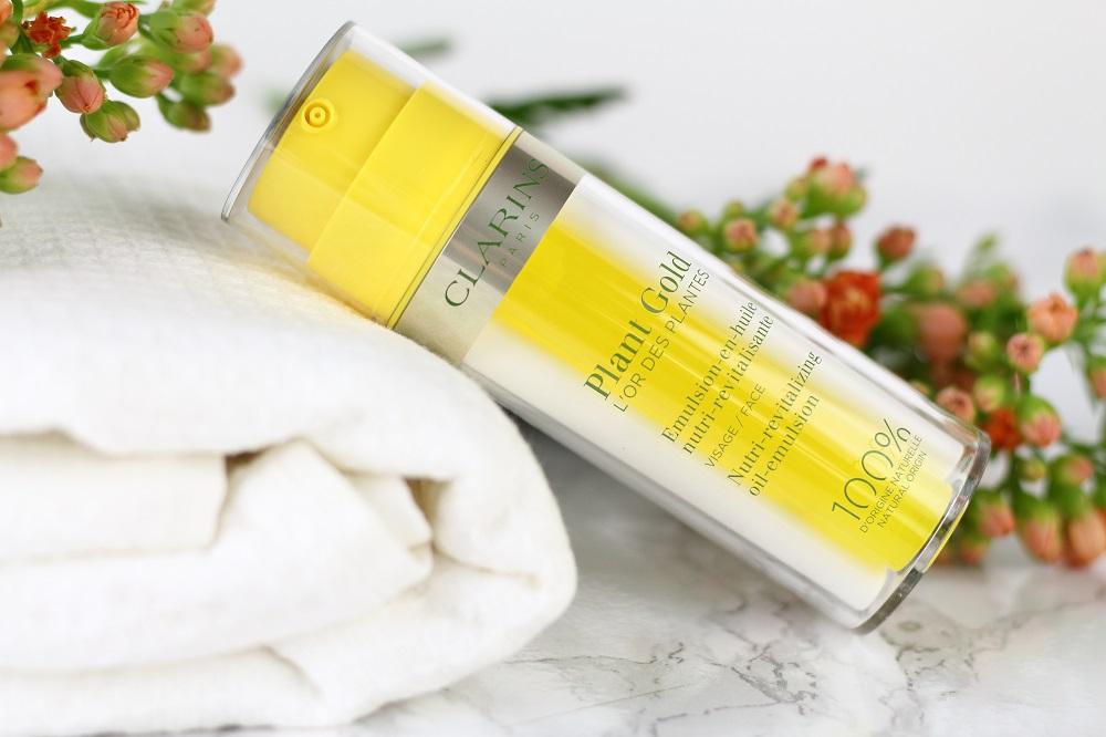 [Anzeige] Natürliche Hautpflege mit der neuen Clarins Aromaphytocare-Linie - Plant Gold L'OR DES PLANTES