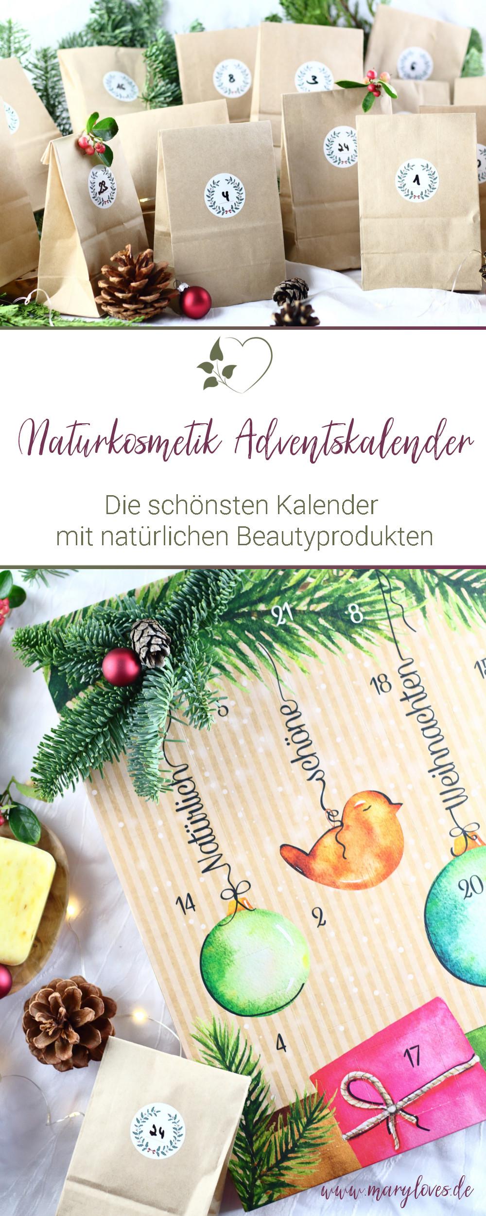 [Werbung unbeauftragt] Natürlich schöne Weihnachten - Die schönsten Naturkosmetik Adventskalender - #naturkosmetik #adventskalender #naturkosmetikadventskalender