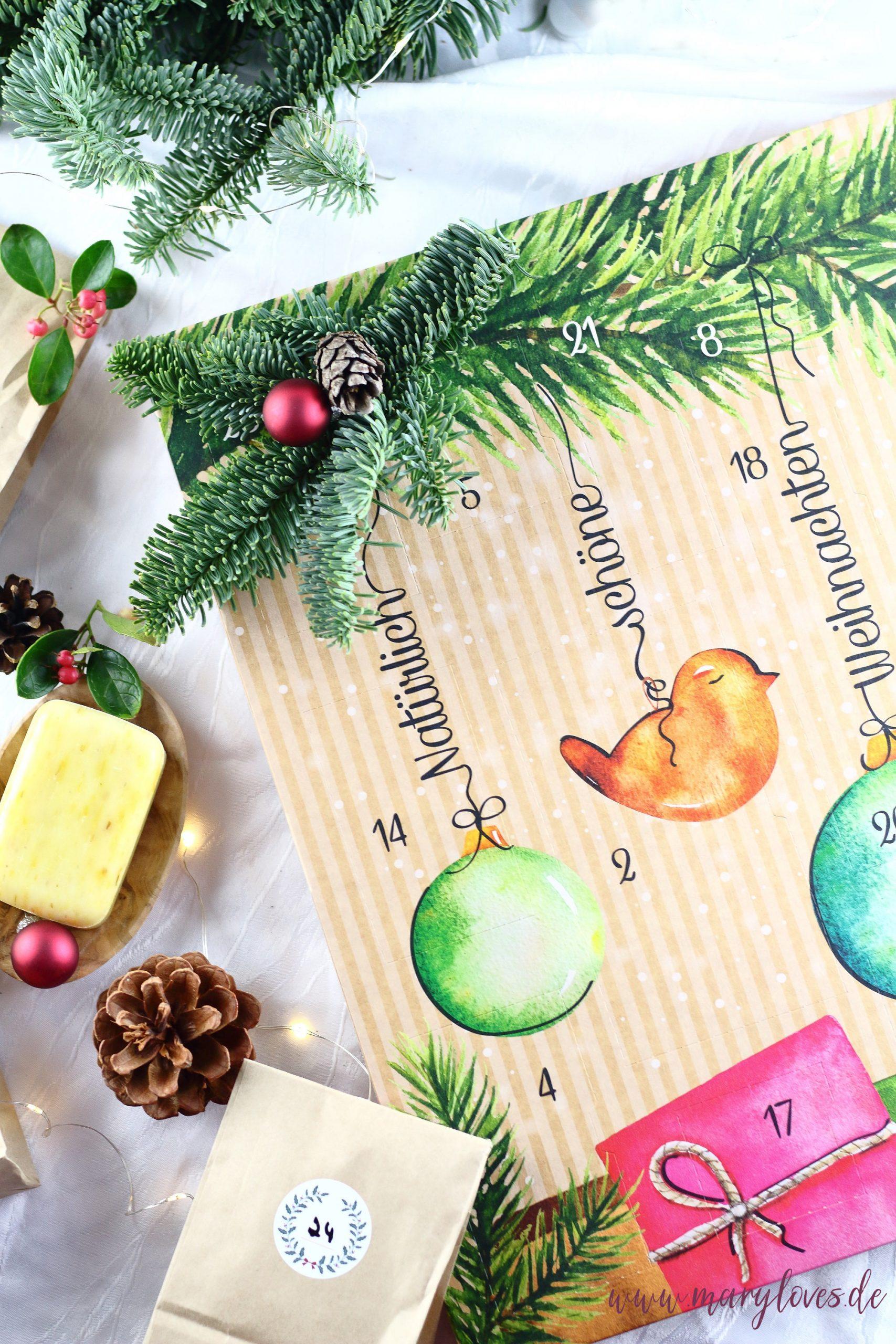 [Werbung unbeauftragt] Natürlich schöne Weihnachten - Die schönsten Naturkosmetik Adventskalender - Alverde Adventskalender 2019