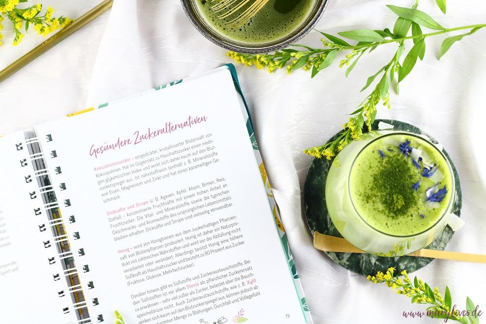Buchvorstellung: Healthy Me-Time & Rezept für eine vegane Kokos-Matcha-Latte