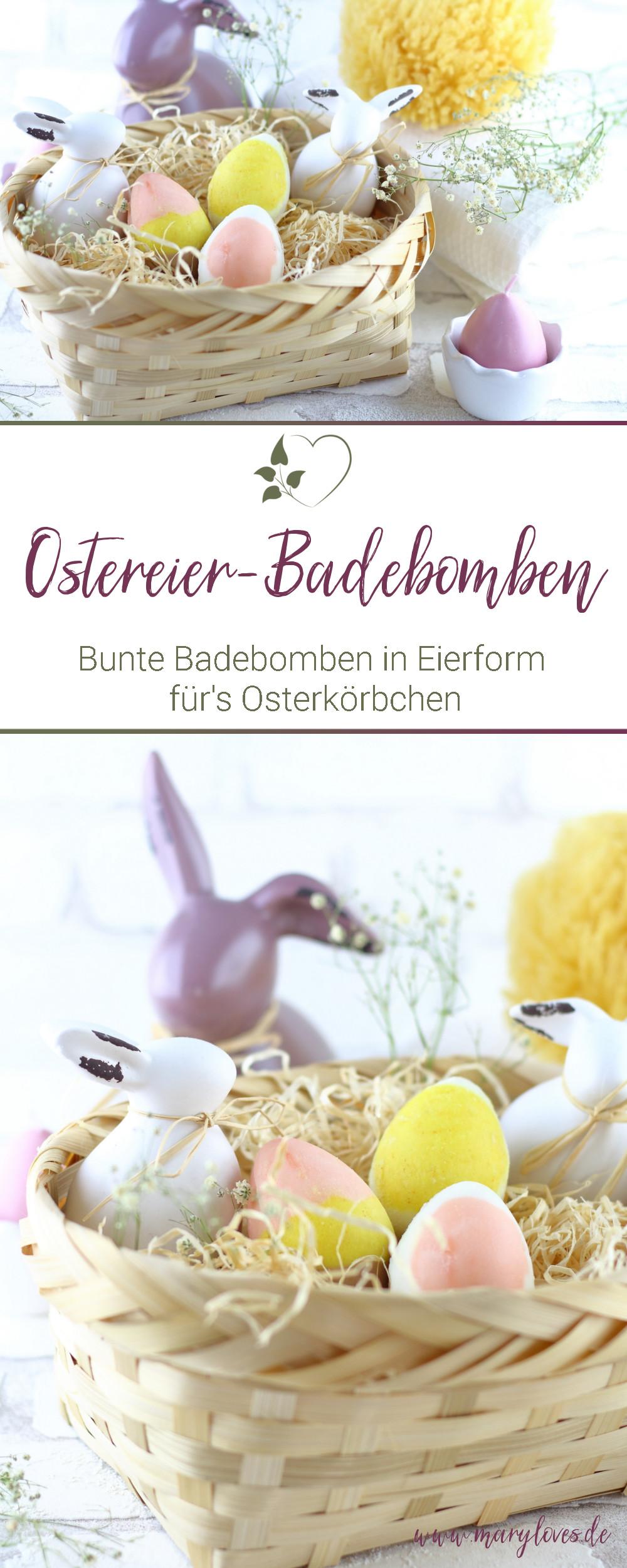 [Werbung unbeauftragt] Bunte Ostereier-Badebomben als selbstgemachtes Ostergeschenk - #ostereierbadebomben #osterei #ostern #ostergeschenk #osterbadebombe #badebombe #badezusatz #diybadebomben