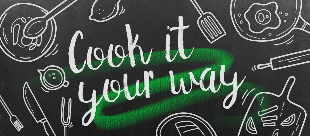 Cook it your way Bloggerreihe Banner