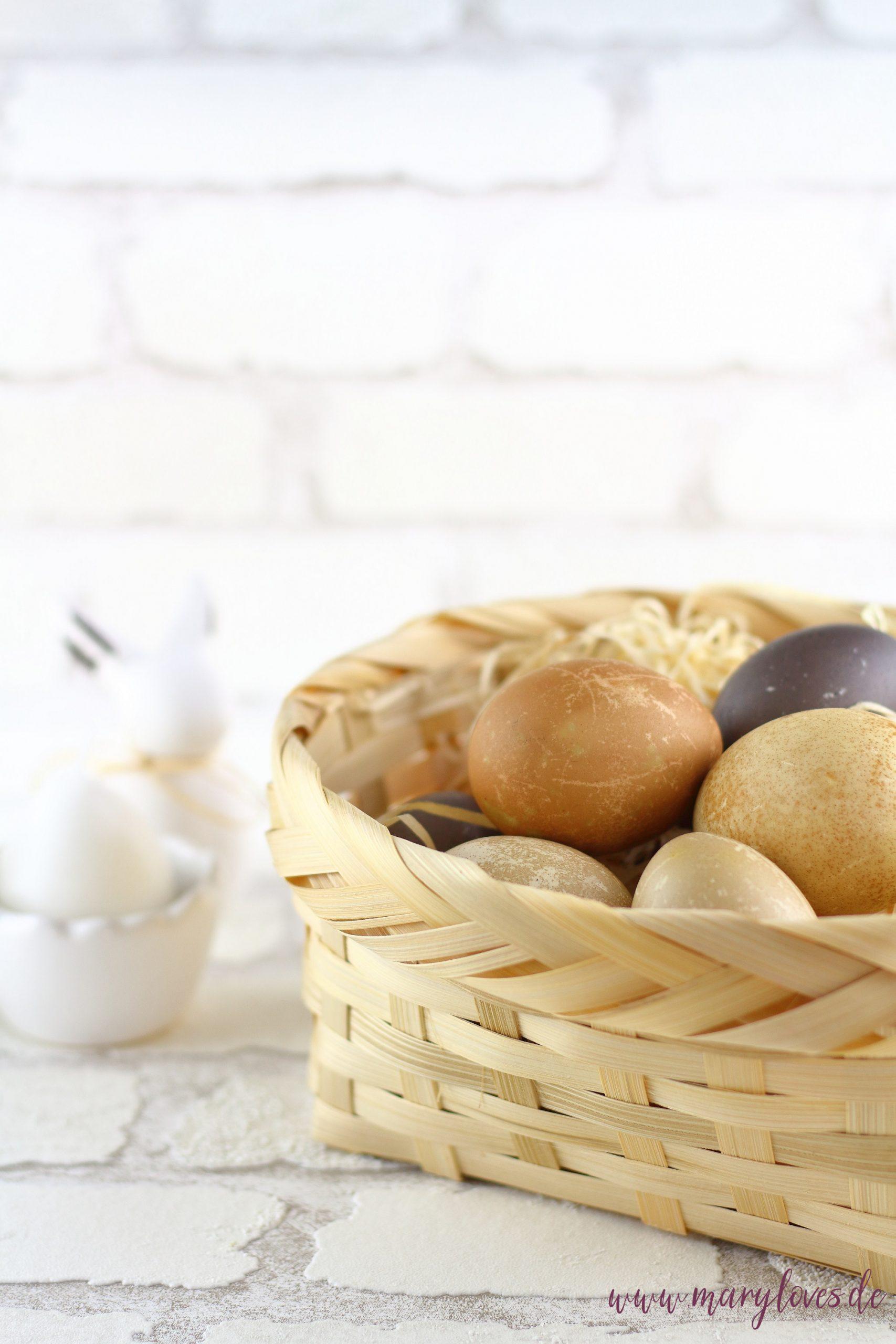 3 einfache Rezepte für gekochte Eier - Verwertung von übrig gebliebenen Ostereiern