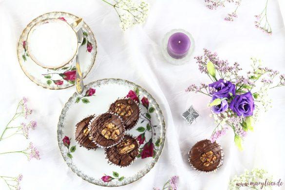Walnuss-Schoko-Muffins