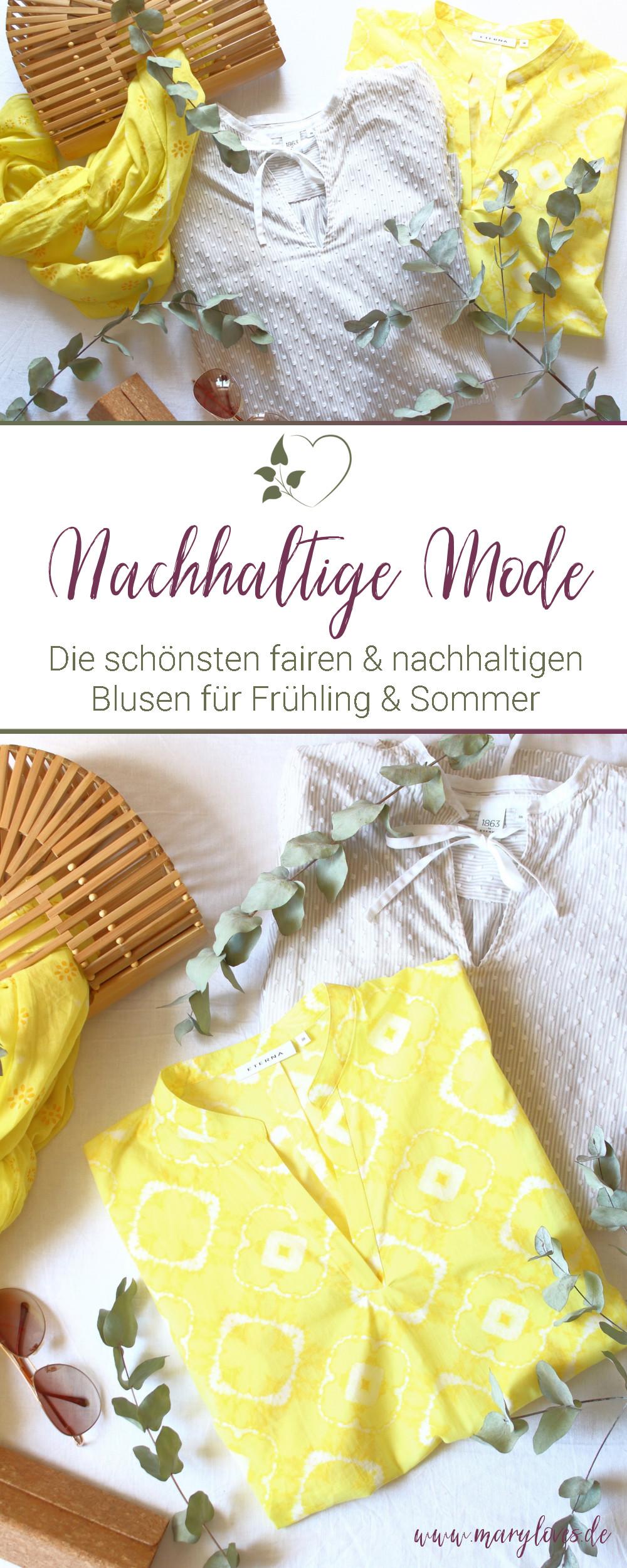 [Werbung unbeauftragt] Nachhaltige Blusen für die warme Jahreszeit - #fairfashion #faireblusen #nachhaltigeblusen #nachhaltigemode #fairesommermode #fairemode #sommerblusen
