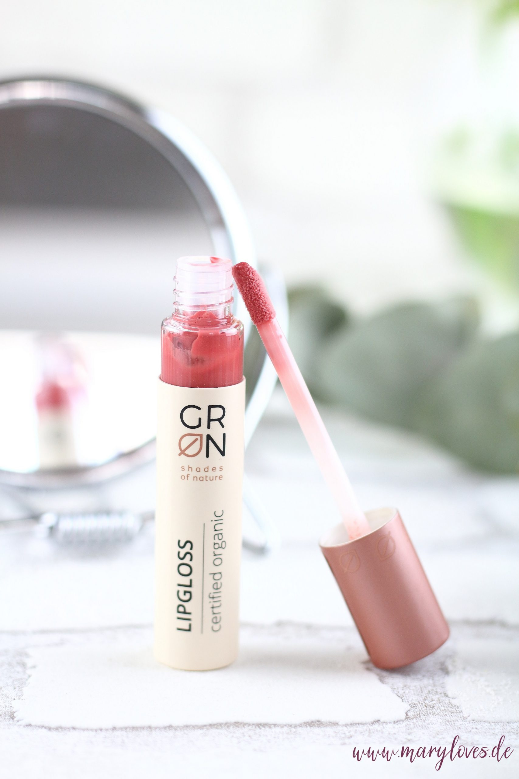 GRN - shades of nature Pflegender Lipgloss peach