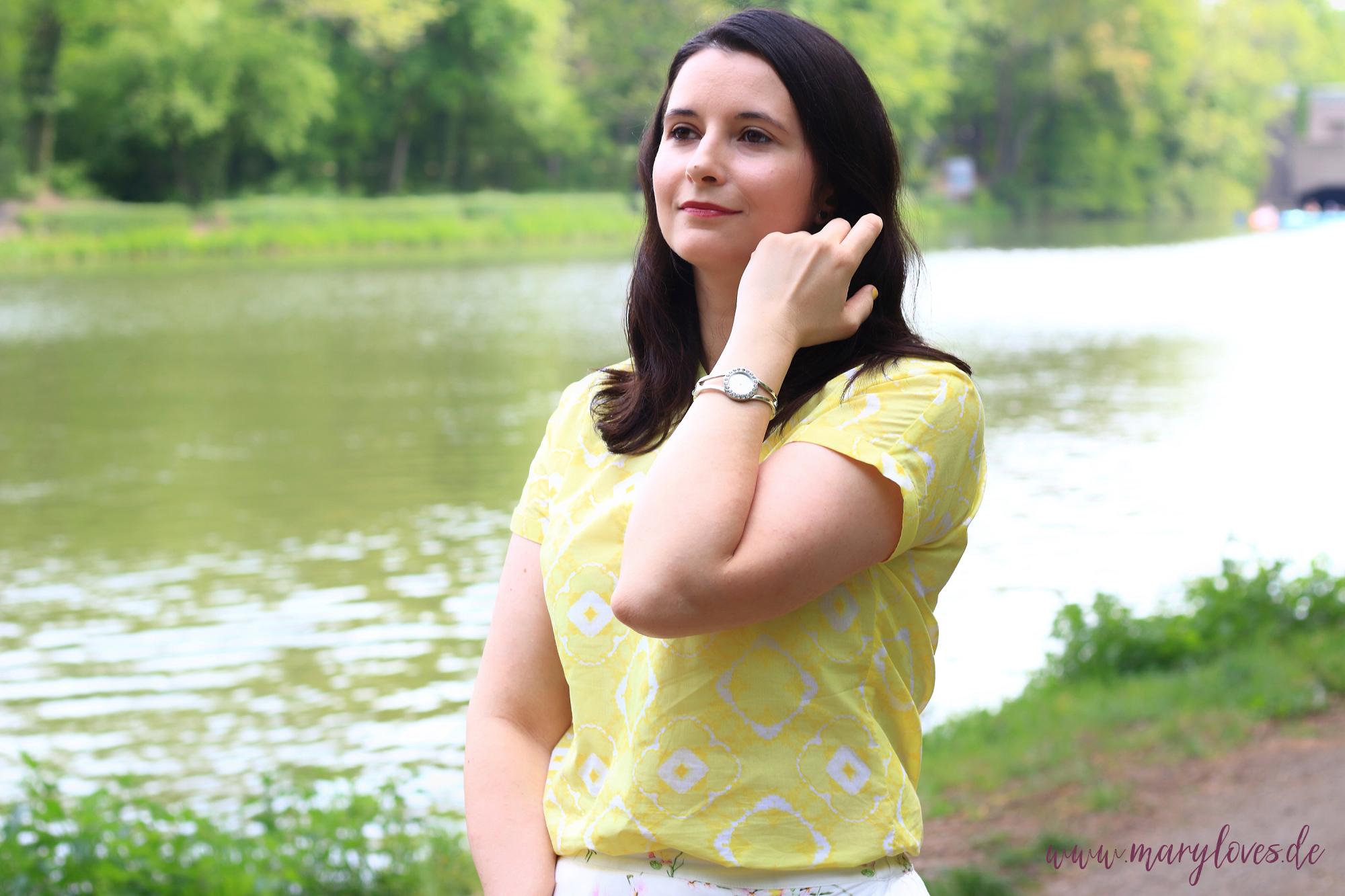 Nachhaltiger Sommerlook mit ETERNA Bluse