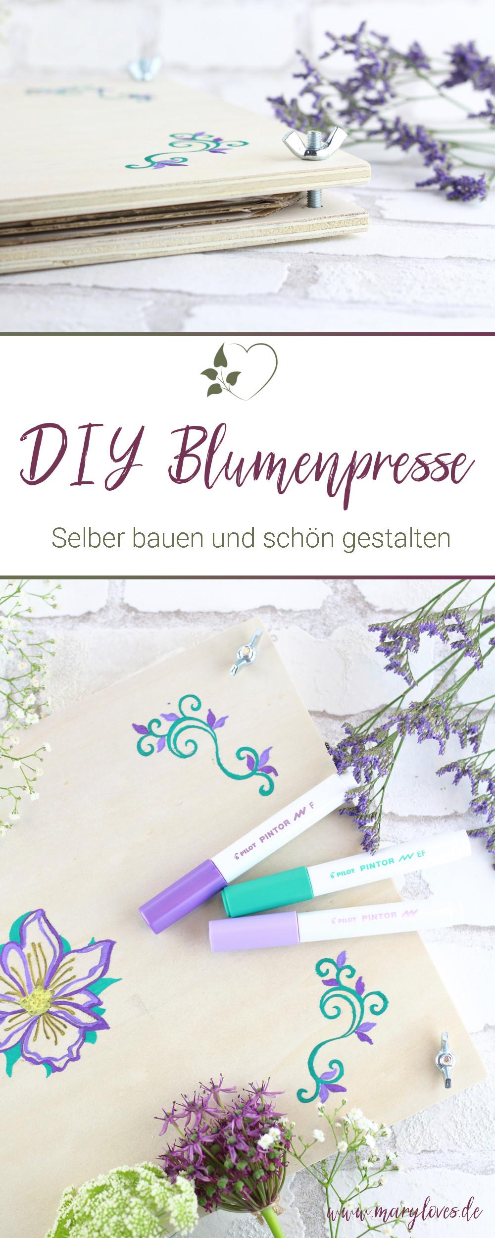 [Anzeige] DIY Blumenpresse aus Holz selber bauen - #blumenpresse #diyblumenpresse #blumenpressen #blumenpresseselberbauen #diy #blumendiy