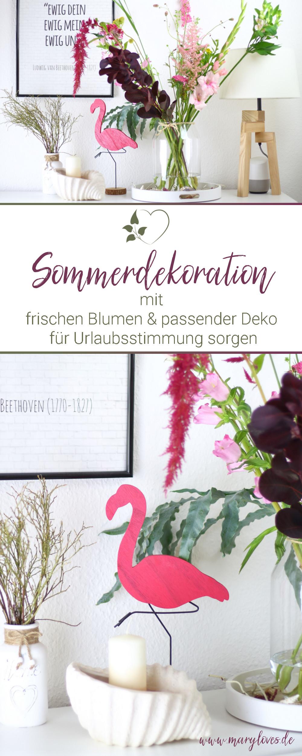 [Anzeige] Frische Blumen & sommerliche Deko für die richtige Urlaubsstimmung - #blumendeko #sommerblumen #bloomon #sommerdeko #dekoration #dekoidee #maritim #urlaubsstimmung