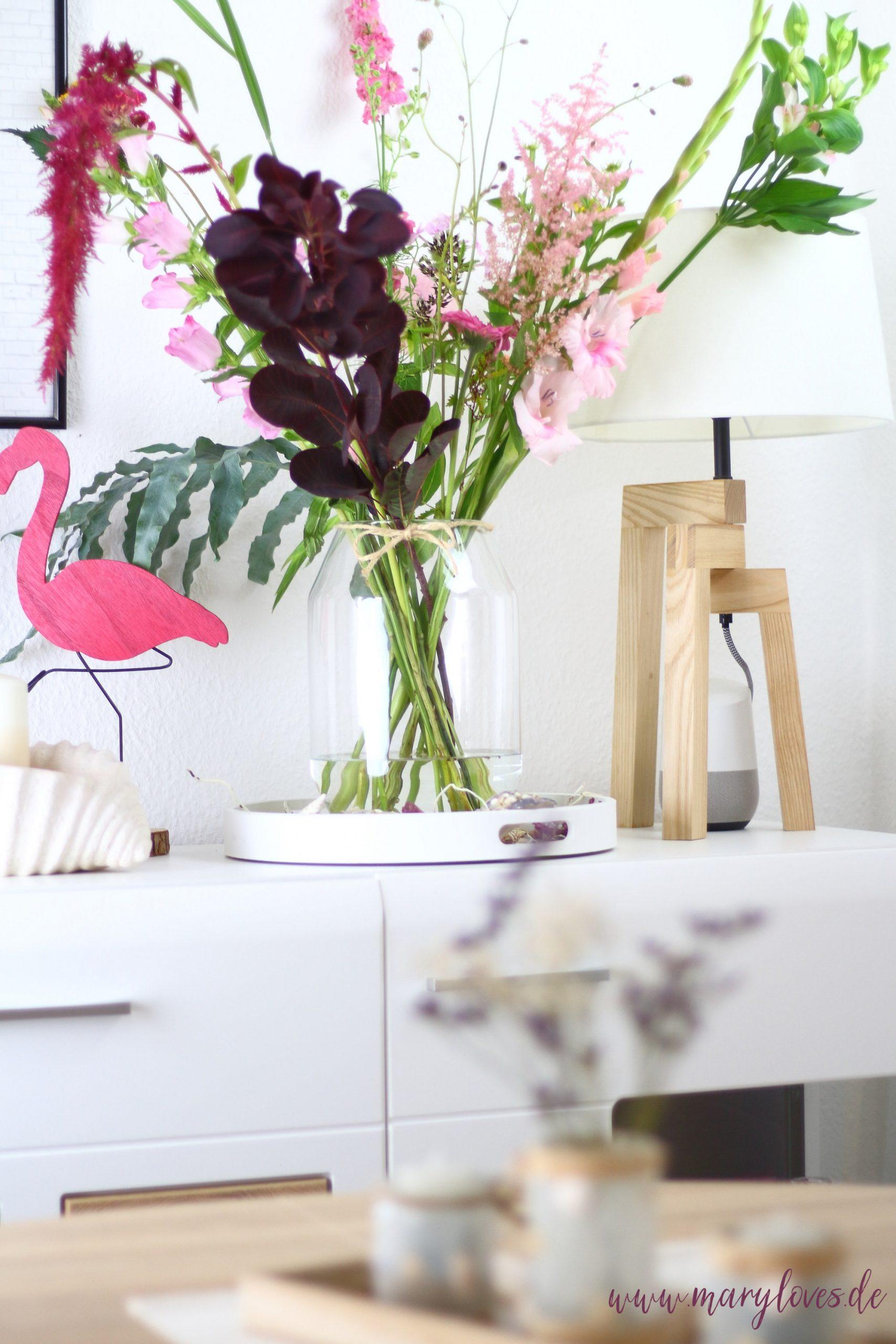 Frische Blumen & sommerliche Deko für die richtige Urlaubsstimmung
