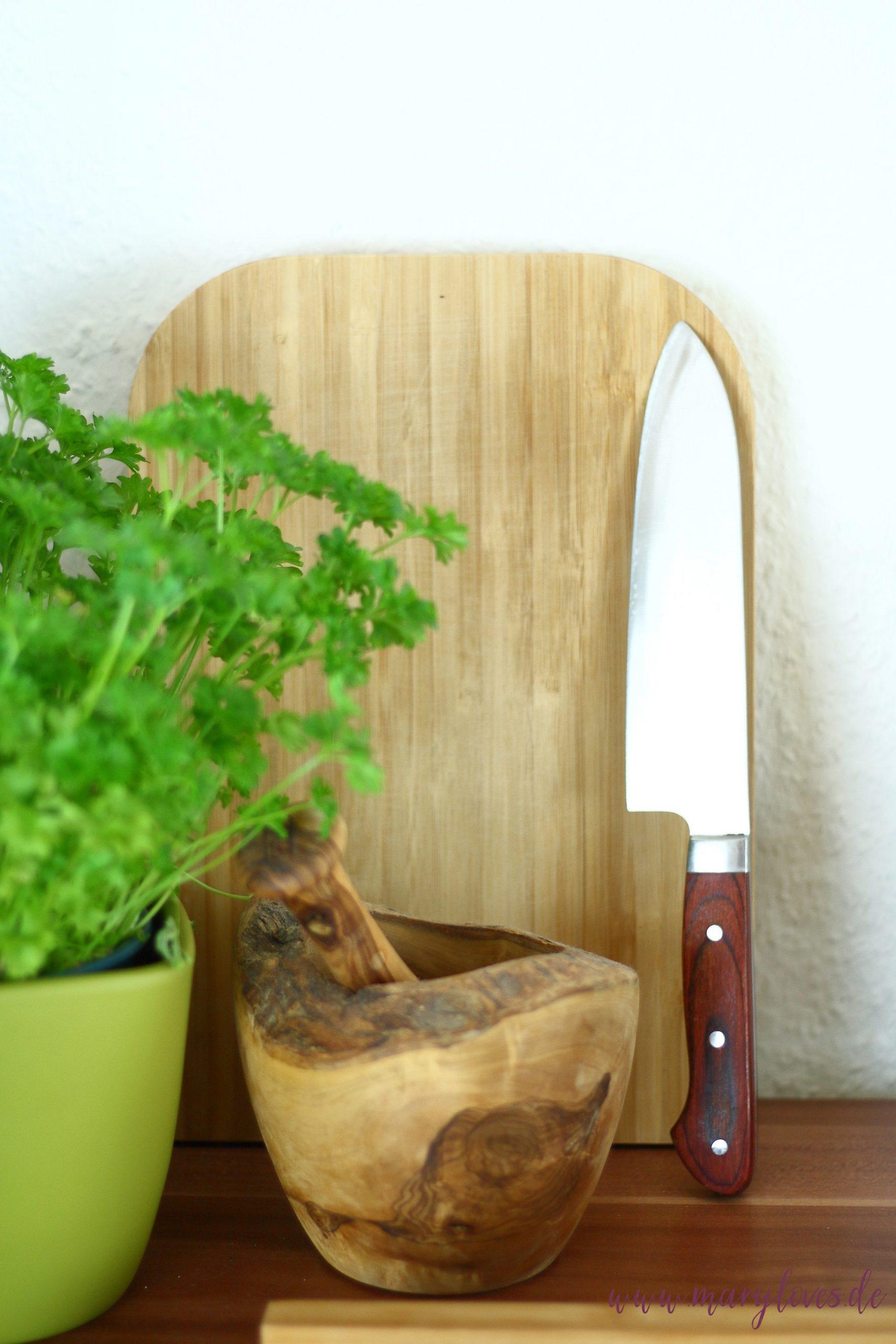 Nachhaltige Küche mit Holzprodukten