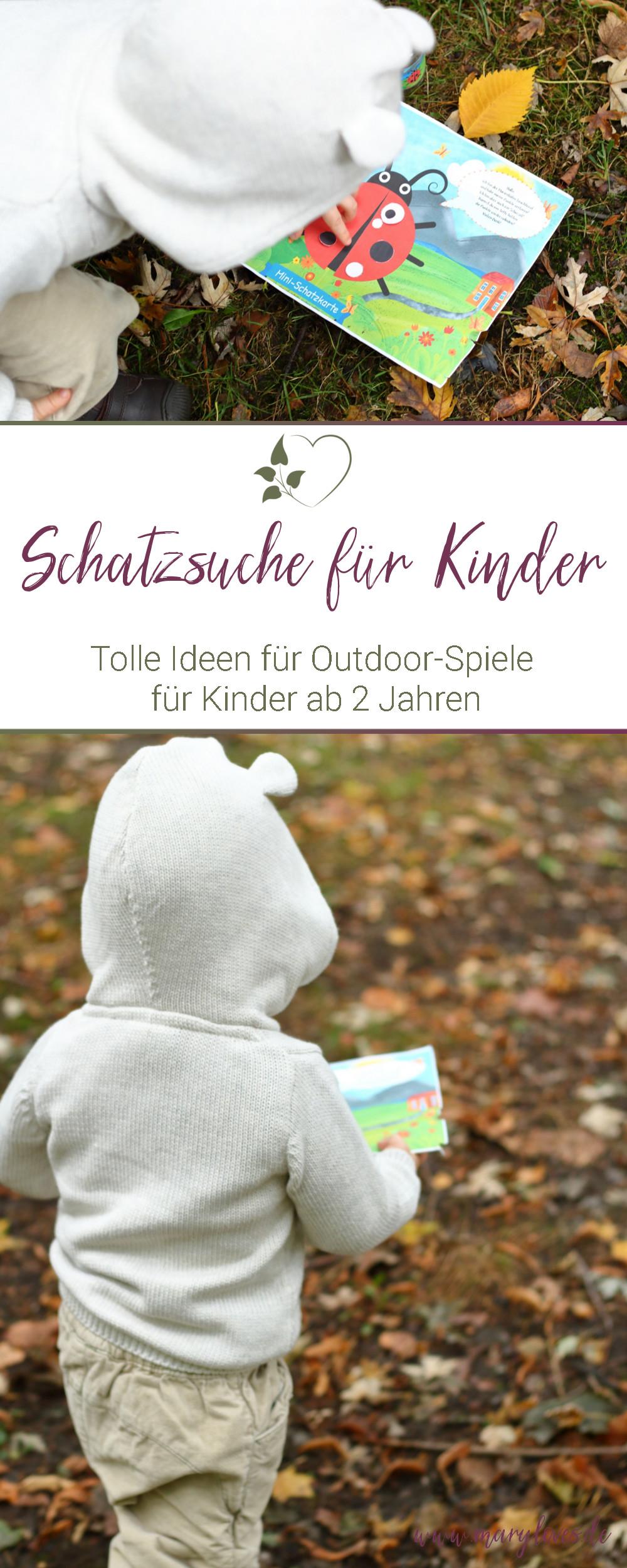 [Anzeige] Outdoor-Spiele für Kleinkinder - Mit Mini-Schatzsuchen ab 2 Jahren - #schatzsuche #outdoorspiele #kleinkind #kinderspiel #minischatzsuche #kinderbeschäftigung #spielefürkinder