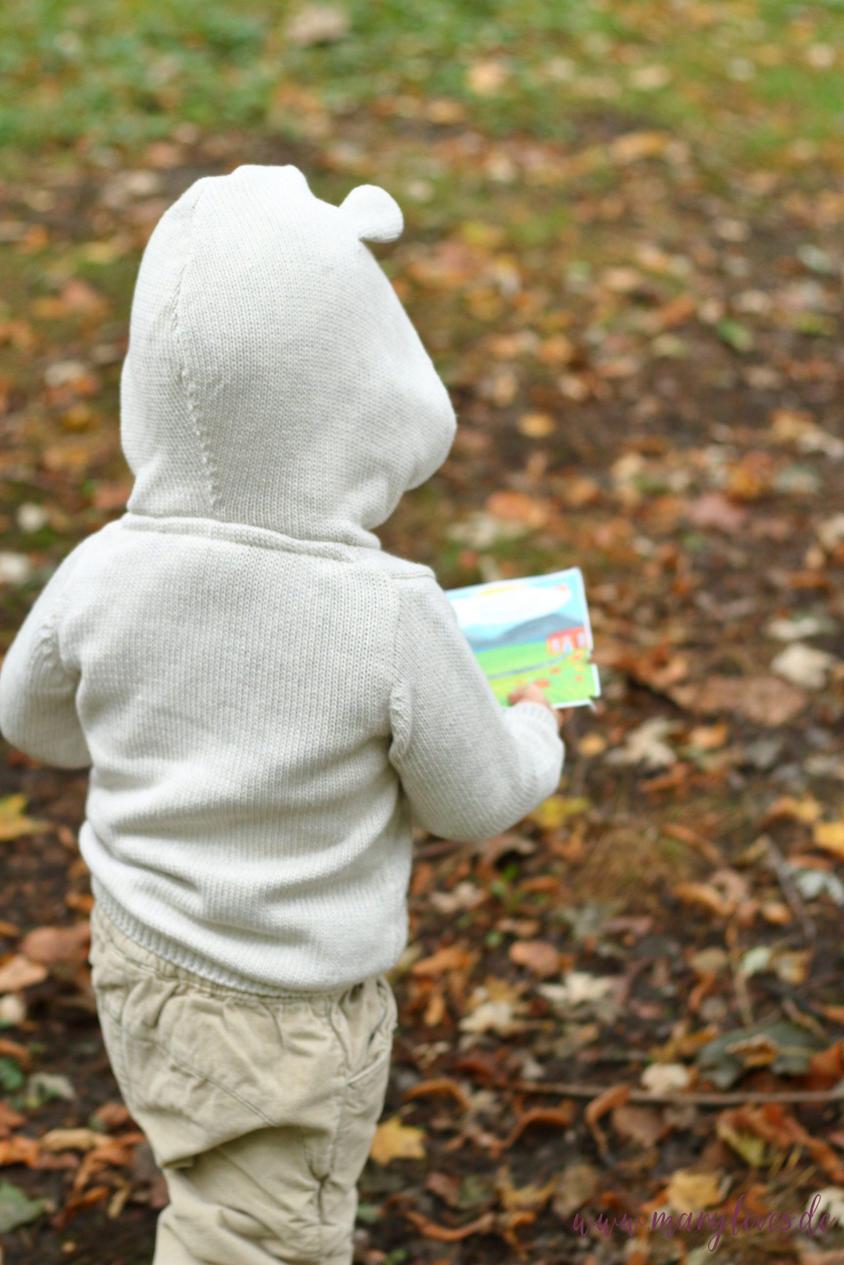 Outdoor-Spiele für Kleinkinder - Mit Mini-Schatzsuchen ab 2 Jahren
