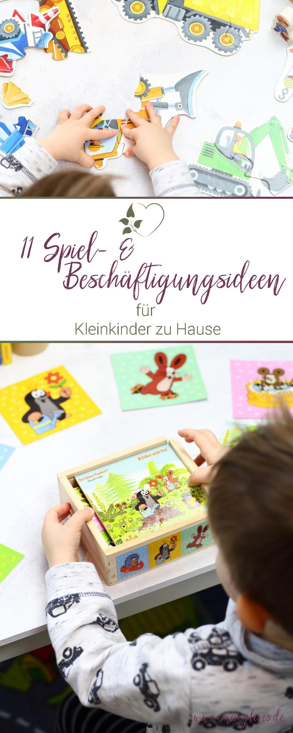 11 Spiel- & Beschäftigungsideen für Kleinkinder zu Hause - #spielidee #kleinkind #kitakind #beschäftigungsideen #spielefürkleinkinder #schlechtwetterideen #spieleab2jahren