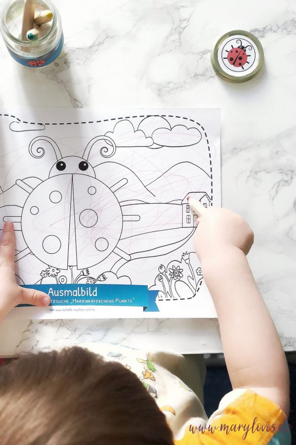 Tipp 2 Malen & Ausmalen fördert Kreativität von Kindern