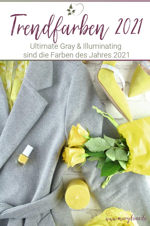 [Werbung unbeauftragt] Die Trendfarben 2021 - Ultimate Gray und Illuminating - #ultimategray #illuminating #trendfarbe #trendfarben2021 #pantone #coloroftheyear #farbtrends