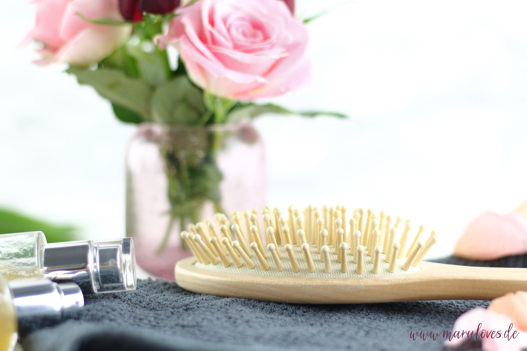 Bambus-Haarbürste für natürliche und nachhaltige Haarpflege