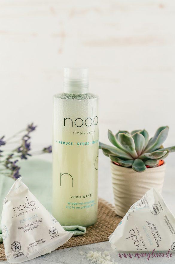 Nada - Simply Care wasserloses Duschpulver