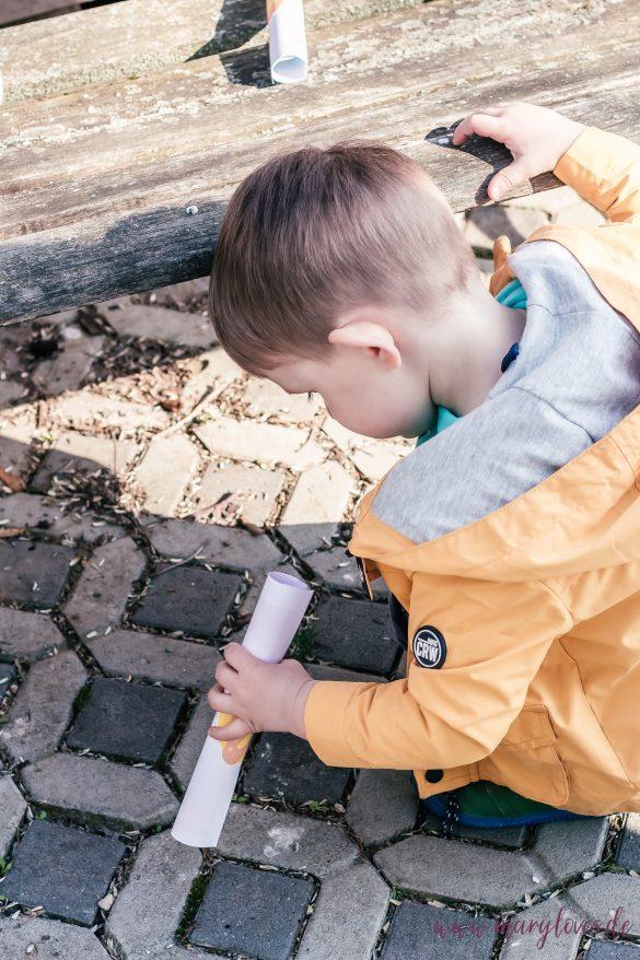 Schatzsuche für Kleinkinder: Die Suche