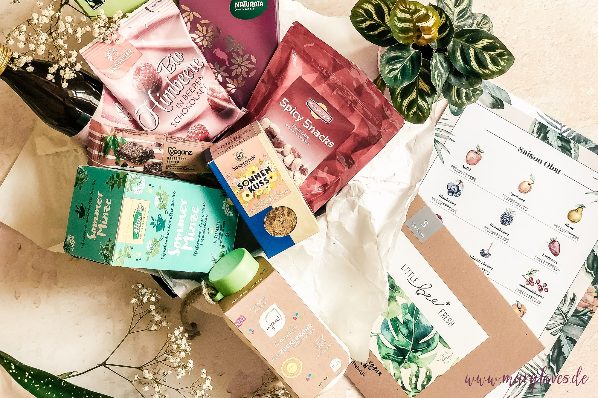 Bloggeburtstagsgewinnspiel: Gewinnt ein sommerliches Bio-Paket